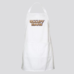 Occupy Mars Light Apron