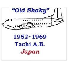 C-124 Old Shaky Poster