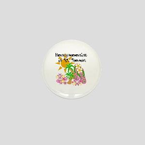Honeymoon St. Thomas Mini Button