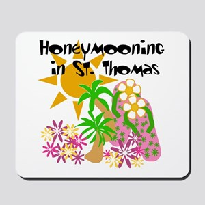 Honeymoon St. Thomas Mousepad