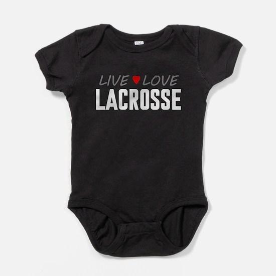 Live Love Lacrosse Baby Bodysuit