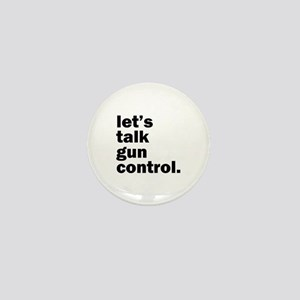 Gun Control Mini Button