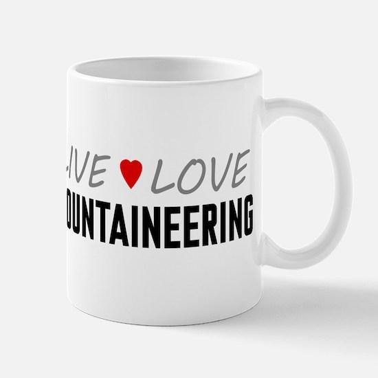 Live Love Mountaineering Mug