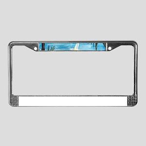Caribbean Getaway License Plate Frame