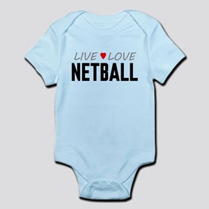 Live Love Netball Infant Bodysuit