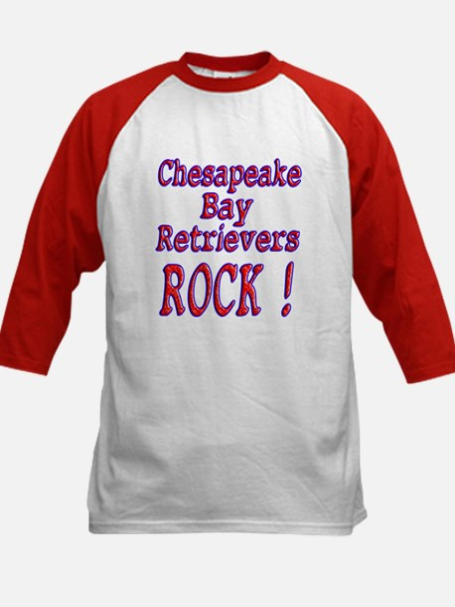 Chesapeake Bay Retrievers Kids Baseball Jersey