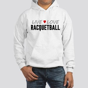 Live Love Racquetball Hooded Sweatshirt