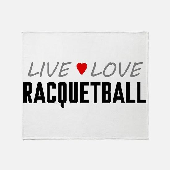 Live Love Racquetball Stadium Blanket