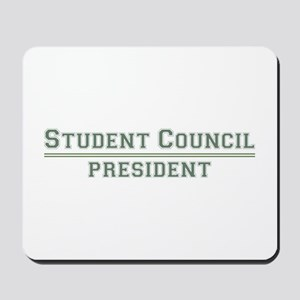 Student Council President Mousepad