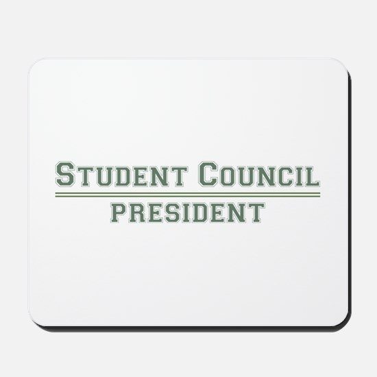 Student Council President Mousepad