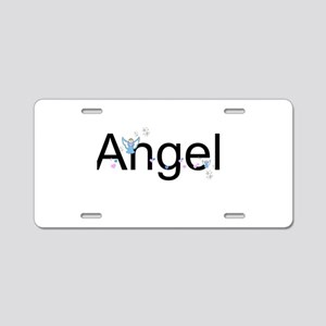 Personalizable Cute ANGEL Aluminum License Plate