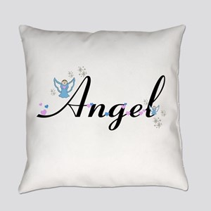 Personalizable Cute ANGEL Everyday Pillow