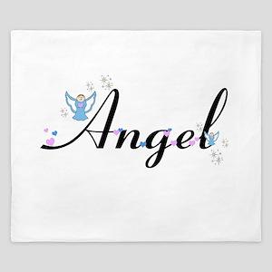 Personalizable Cute ANGEL King Duvet