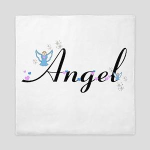 Personalizable Cute ANGEL Queen Duvet