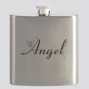 Personalizable Cute ANGEL Flask