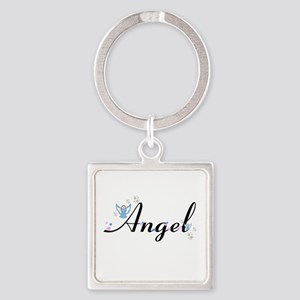 Personalizable Cute ANGEL Keychains