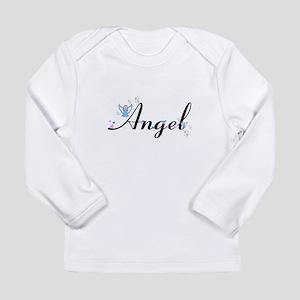 Personalizable Cute ANGEL Long Sleeve T-Shirt