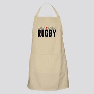 Live Love Rugby Apron