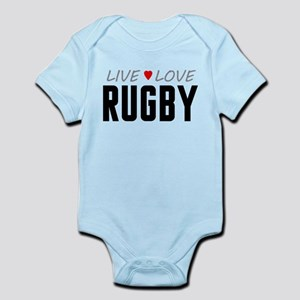 Live Love Rugby Infant Bodysuit