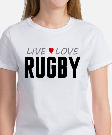 Live Love Rugby Women's T-Shirt