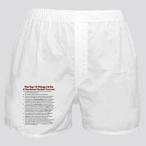 True Love 10! Boxer Shorts