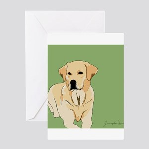 The Artsy Dog Lab Series Greeting Card