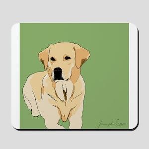 The Artsy Dog Lab Series Mousepad