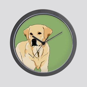 The Artsy Dog Lab Series Wall Clock