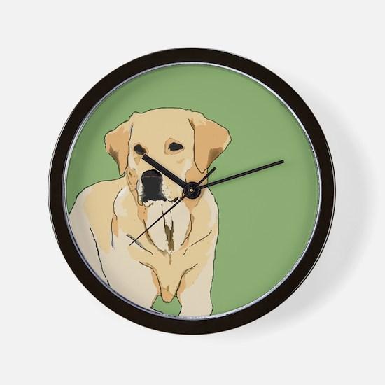 The Artsy Dog Lab Series Wall Clock