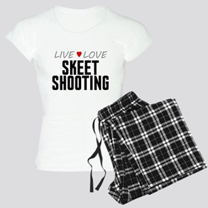 Live Love Skeet Shooting Women's Light Pajamas