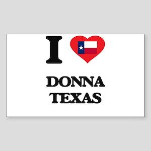 I love Donna Texas Sticker