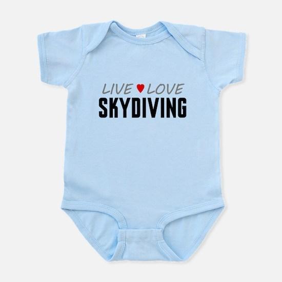Live Love Skydiving Infant Bodysuit