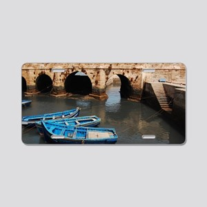 The Skala and boats Aluminum License Plate