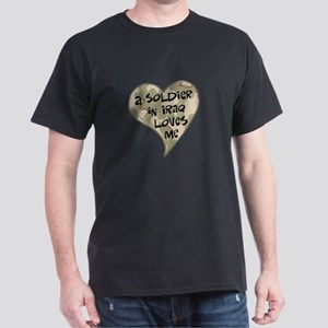 Iraq soldier loves me Dark T-Shirt