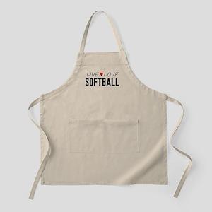 Live Love Softball Apron