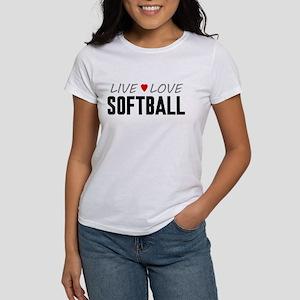 Live Love Softball Women's T-Shirt