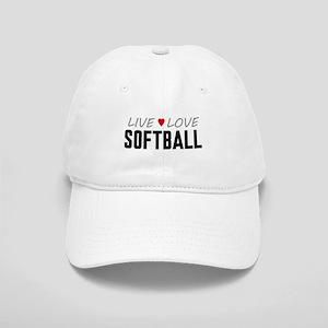 Live Love Softball Cap