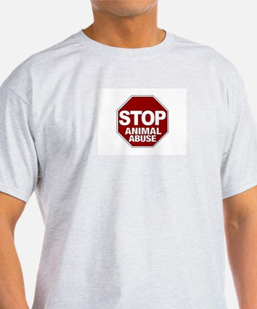 Stop Animal Abuse T-Shirt