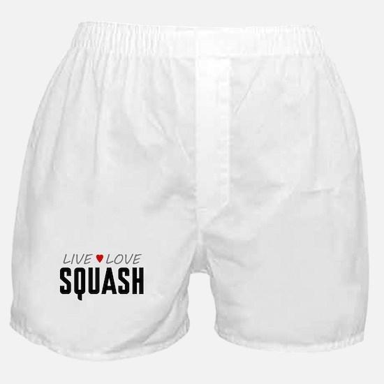 Live Love Squash Boxer Shorts