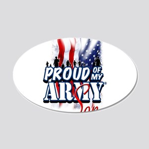 Proud of My Army Son Wall Decal