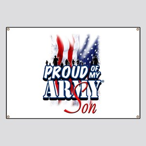 Proud of My Army Son Banner