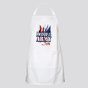 Proud of My Army Son Apron