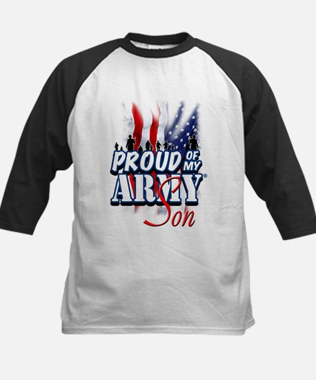 Proud of My Army Son Baseball Jersey
