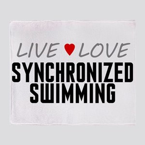 Live Love Synchronized Swimming Stadium Blanket