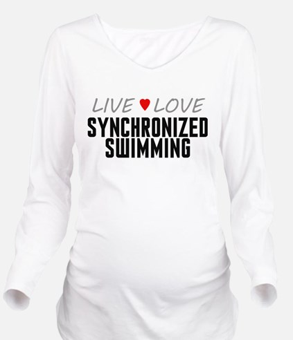Live Love Synchronized Swimming Long Sleeve Matern