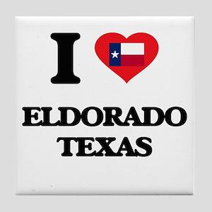 I love Eldorado Texas Tile Coaster