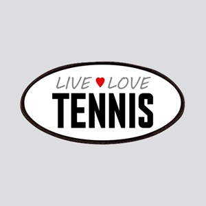 Live Love Tennis Patches