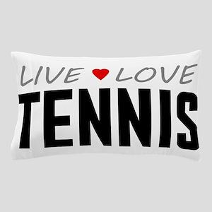 Live Love Tennis Pillow Case