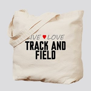 Live Love Track and Field Tote Bag