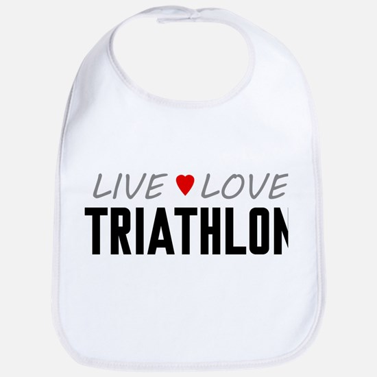 Live Love Triathlon Bib